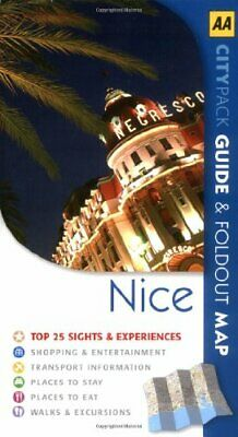 Nice (AA CityPack Guides) (AA CityPack Guides) by AA Publishing Paperback Book