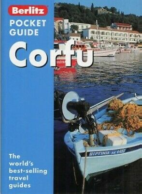 Corfu Berlitz Pocket Guide (Berlitz Pocket Guides) Paperback Book The Cheap Fast