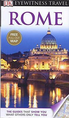 DK Eyewitness Travel Guide: Rome by DK Book The Cheap Fast Free Post