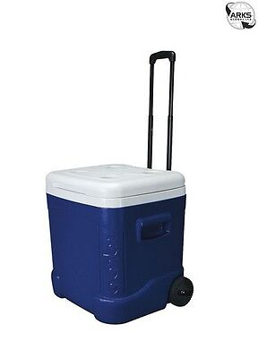IGLOO Ice Cube 60 Roller Coolbox - Blue/White - 00045097