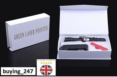 Professional 1mw 532nm 8000M High Power Green Laser Pointer Light Pen Lazer Pen