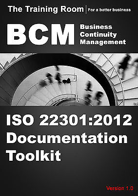 BS ISO 22301:2014 Business Continuity and Disaster Recovery Document Toolkit