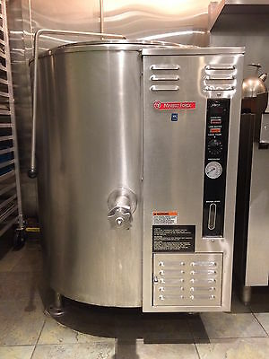MARKET FORGE 40 Gallon Stationary - Fully Jacketed Steam Kettle