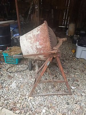 Antique concrete mixer