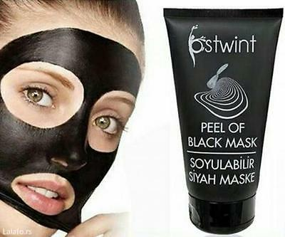 Ostwint Face Peel Off Black Mask Powerful Effect Facial Mask For BLACK DOT 150ml