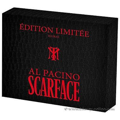 Coffret Collector Blu-Ray Scarface Neuf Sous Blister