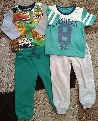 Boys Joggers And Top Bundle Age 18/24 Months