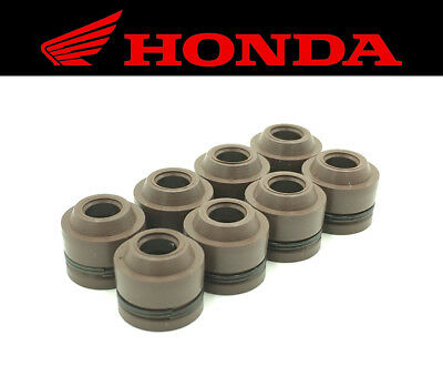 Set of (8) Intake & Exhaust Valve Stem Seals Honda FSC600 Silver Wing 2002-2013
