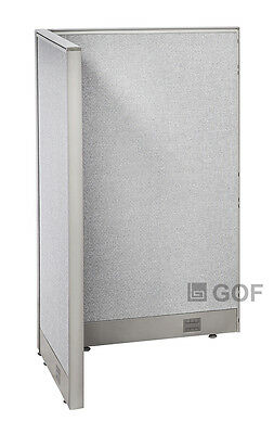 GOF L-Shaped Freestanding Partition 30D x 30W x 48H / Office, Room Divider