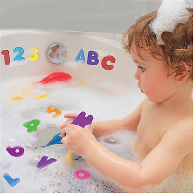 36Pcs Random Children Education Alphabet Learning Toy Foam Letters Numbers