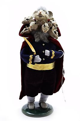 1997 Byers Choice Nutcracker Mouse King First Edition NWT