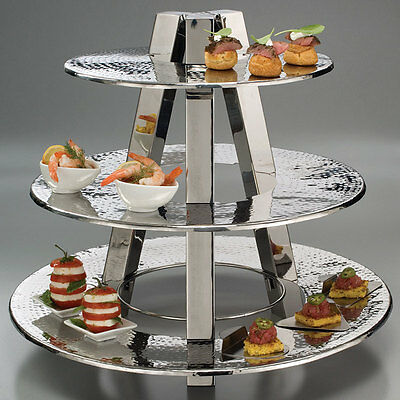 American Metalcraft TTS2319 3-Tier Buffet or Catering Display