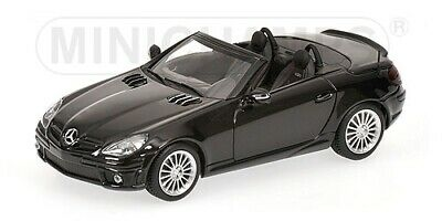 Mercedes Benz Slk 55 Amg Roadster 2008 Black 1:43 Model MINICHAMPS