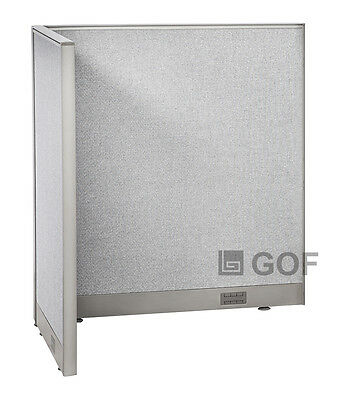 GOF L-Shaped Freestanding Partition 30D x 48W x 48H / Office, Room Divider