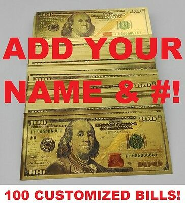 Don't Get Fooled! This Is The Same Size As An Authentic $100 Bill! Free Shipping
