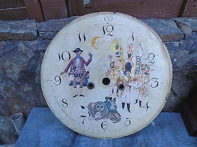Antique Longcase-Grandfather Clock Face Georgian 8 Day
