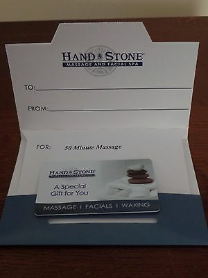 Hand and Stone Gift Card $50