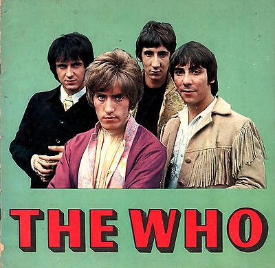 The Who 1967 Sell Out Tour Program Book / Roger Daltry / Keith Moon / Vg 2 Ex