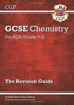 Grade 9-1 GCSE Chemistry: AQA Revision Guide with Online Edition... by CGP Books