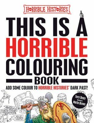 This is a Horrible Colouring Book by Terry Deary (Paperback, 2017)