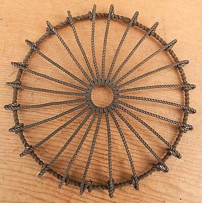 Vintage 6 Inch Wire Form Trivet - Ships for $4.95