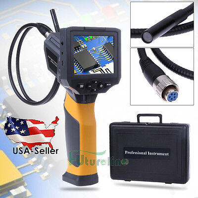 "Portable 3.5""TFT IP67 Industry Video Borescope Endoscope Tube Inspection Camera"