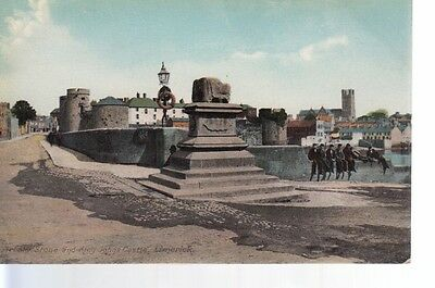 NBP56 Treaty Stone And King Johns Castle Limerick