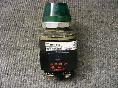 Allen Bradley Green Indicator Light Cat No 800T-P16  Series T