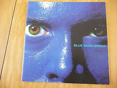 """BLUE MAN GROUP"" Off Broadway Official Program Souvenir (Astor PlaceTheartre NY)"