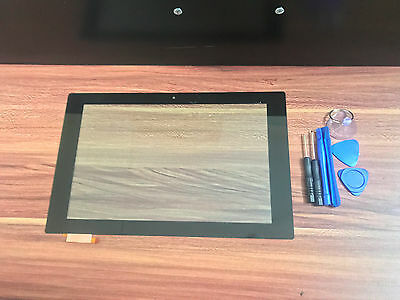 New Sony Xperia Tablet Z2 Sgp511 Sgp512 Sgp521 10.1 Touch Screen Digitizer Glass