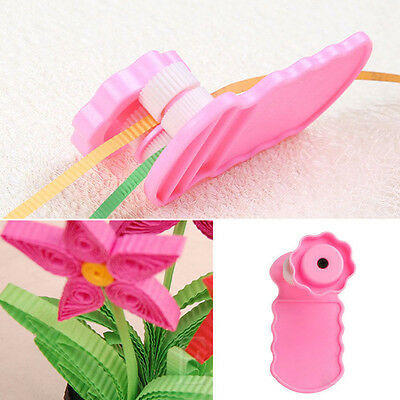 1x Plastic Paper Quilling Crimper Crimping  DIY Tool Quilled Wave Creation Craft