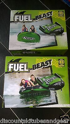 Fuel Beast 2 Rider Ski Tube Towable For Great Water Sports Fun