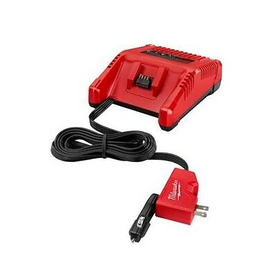 Milwaukee 2710-20 M18 18V AC/DC Wall and Vehicle Charger