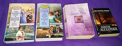 Lot Of 4 Christian Romance Books, 9 Inspirational Christian Love Stories