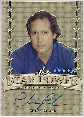 2016 Pop Century Star Power Auto: Chevy Chase #1/1 Of One Autograph Snl Original