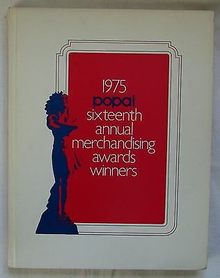 1975 Point Of Purchase POP Advertising Institute Award Winners Program POPAI
