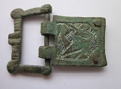 Medieval 14th Century Gothic Dragon Buckle w/ $600 Appraisal
