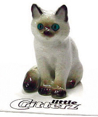 ➸ LITTLE CRITTERZ Cat Miniature Figurine Ragdoll Cat Kitten Samantha