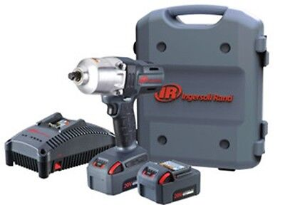 INGERSOLL RAND CO 1/2Inch Impact 20 Volt Lith-Ion 5 Amp Kit Two Battery IRW7150-