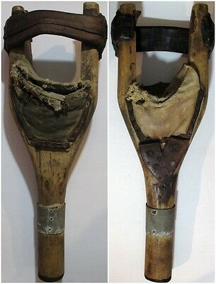 AUTHENTIC Antique CIVIL WAR OR EARLIER Medical Amputation Prosthetic PEG LEG