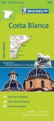 Costa Blanca Zoom Map 123 by Michelin Editions des Voyages (Sheet map,...