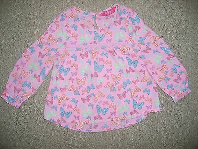 baby girls long sleeved blouse age 18-24 months