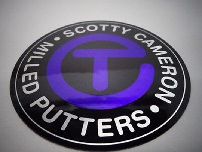 Rare Scotty Cameron Genuine Article Circle T Big Sticker purple Japan F/S