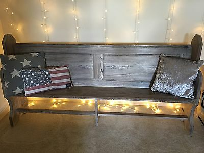 Stunning Antique Church Pew