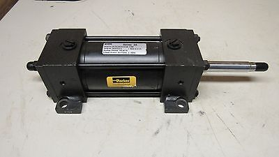"Parker 2.5 Ckc2At1414C 3 Double Rod Pneumatic Air Cylinder 2.5"" Bore 3"" Stroke"
