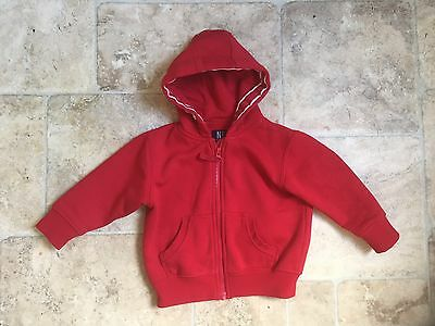 Next Red Boys Hoodie Age 12-18 Months