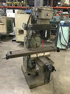SUPERMAX Vertical Mill  YCM-16VS  3hp Milling Machine  Nice Condition
