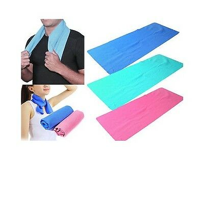 New Instant Cooling Towel Sports Gym Towel Drying Sweat Absorb Dry Summer