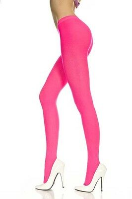 Neon Opaque Tights Ladies Tights Music Legs Tights Bright Colors 747