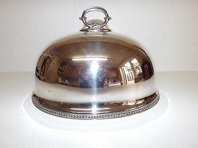 Vintage Goldsmiths & Silversmiths Silver Plated Meat Dome No 2